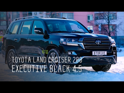 ЯПОНСКИЙ АНАБОЛИК - TOYOTA LAND CRUISER 200 EXECUTIVE BLACK 4.5