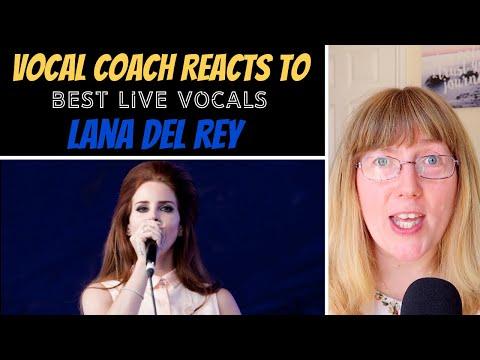 Vocal Coach Reacts to Lana Del Reys Best  Vocals