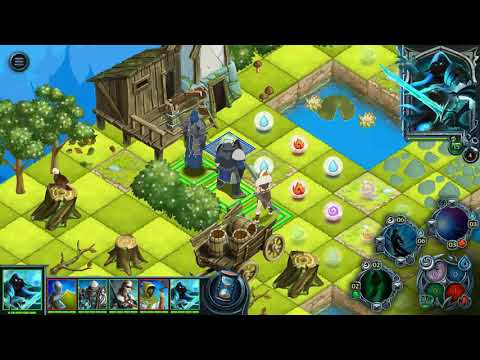 [Heroes Of War Magic]Turn-based Strategy Mobile Gameplay On Android/iOs.