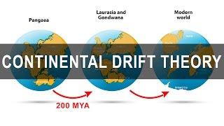 Continental Drift Theory - Alfred Wegener | Pangea | Gondwanaland