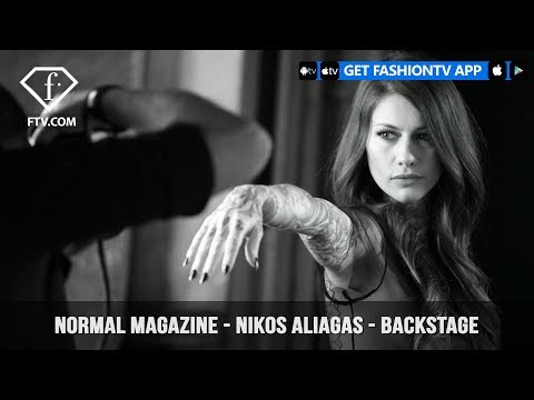Normal Magazine is Backstage with Nikos Aliagas with Sexy Beautiful Women | FashionTV | FTV