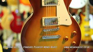 Epiphone Les Paul Standard Plaintop Honeyburst - Quick Look
