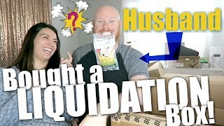 Husband Bought a $4947 Customer Returns Liquidation Box | I have NO IDEA What's In It!