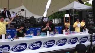 The 2014 Stockton Asparagus Festival Deep-fried Asparagus Eating Contest