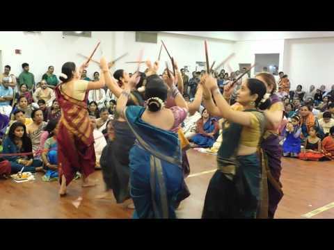 Kolaata in Traditional Attire - Song GubbiYaado - during Shri Srinivasa KalyanA at SKV, Edison, NJ