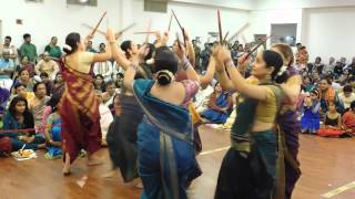 Kolaata in Traditional Attire - Song GubbiYaado - during Shri Srinivasa KalyanA at SKV, Edison, NJ