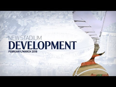 NEW STADIUM TIMELAPSE | FEBRUARY/MARCH 2018
