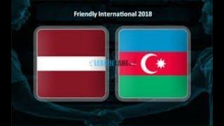 Latvia 1-3 Azerbaijan Full Match | Latviya 1-3 Azerbaycan Tam Oyun