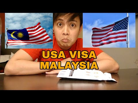 Interview Visa USA (Malaysia) 10 Years APPROVED !!
