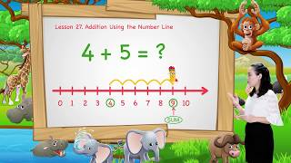 Math For Kids   Lesson 27: Addition Using the Number Line   Kindergarten   Ignite Study
