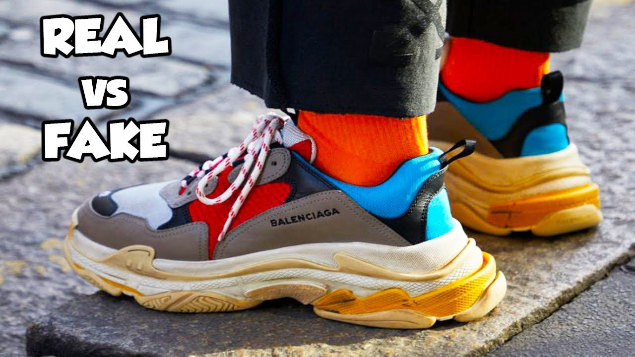 how to tell if triple s are fake