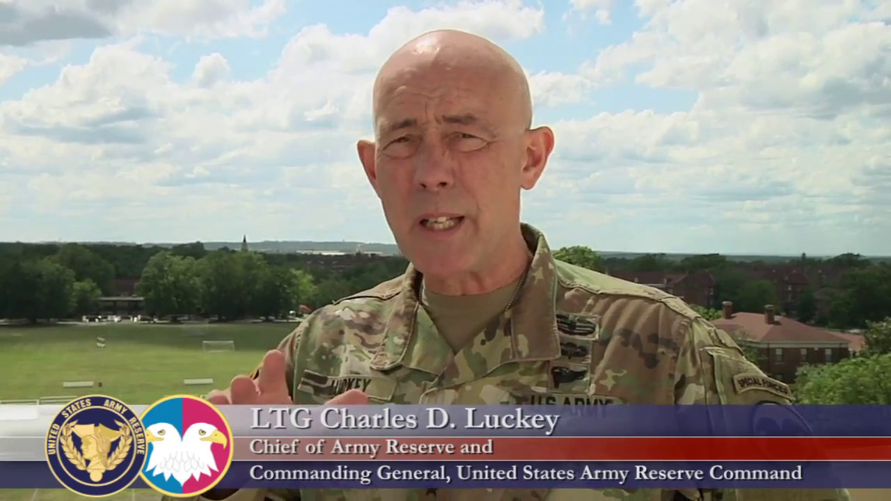 LTG Charles D. Luckey, Chief of Army Reserve and Commanding General U.S. Army Reserve Command, speaks about suicide awareness and staying vigilant in the lives of those around you.
