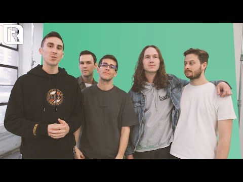 Knuckle Puck - Behind The Scenes Of Their Rock Sound Cover Shoot