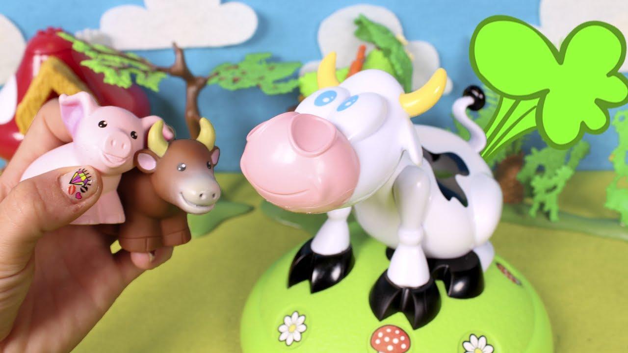 Vaca Loca Jugamos Con La Vaca Lola Y Aprendemos Los Animales