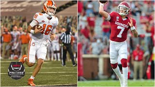Spencer Rattler And Trevor Lawrence Record Seven Touchdowns In Week 1 | College Football Highlights