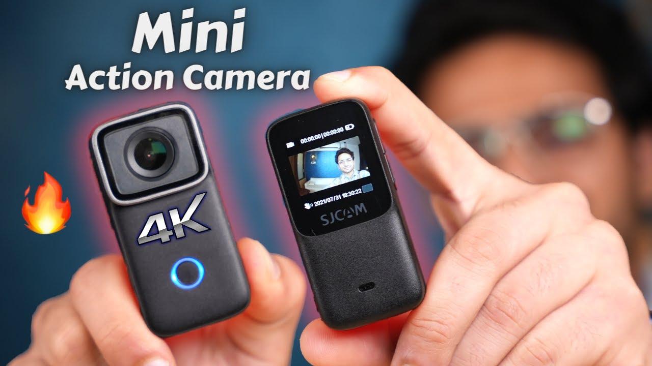 Mini 4K Action Camera 🔥| SJCAM C200 Unboxing & Review 🚀| Budget Vlogging Camera..? 🧐
