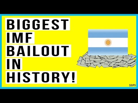 🇦🇷 IMF BIGGEST Bailout in History! Argentina Currency Drops To Record Low!