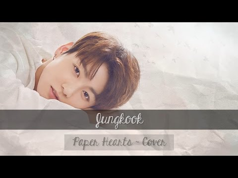 Jungkook - Paper Hearts (Cover) - Vostfr