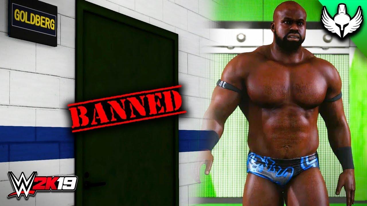 Download WWE 2K19 Custom Story - GOLDBERG BANNED FROM RINGSIDE!! (Ep 13)