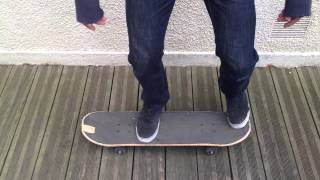 Faire un shove-it en skate - Trick de skateboard
