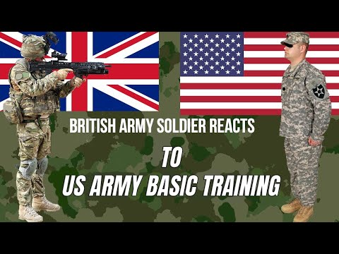 British Army Soldier REACTS to US Army Training