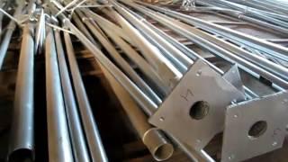 видео Столбы освещения(опоры ЛЭП до 35кВ)