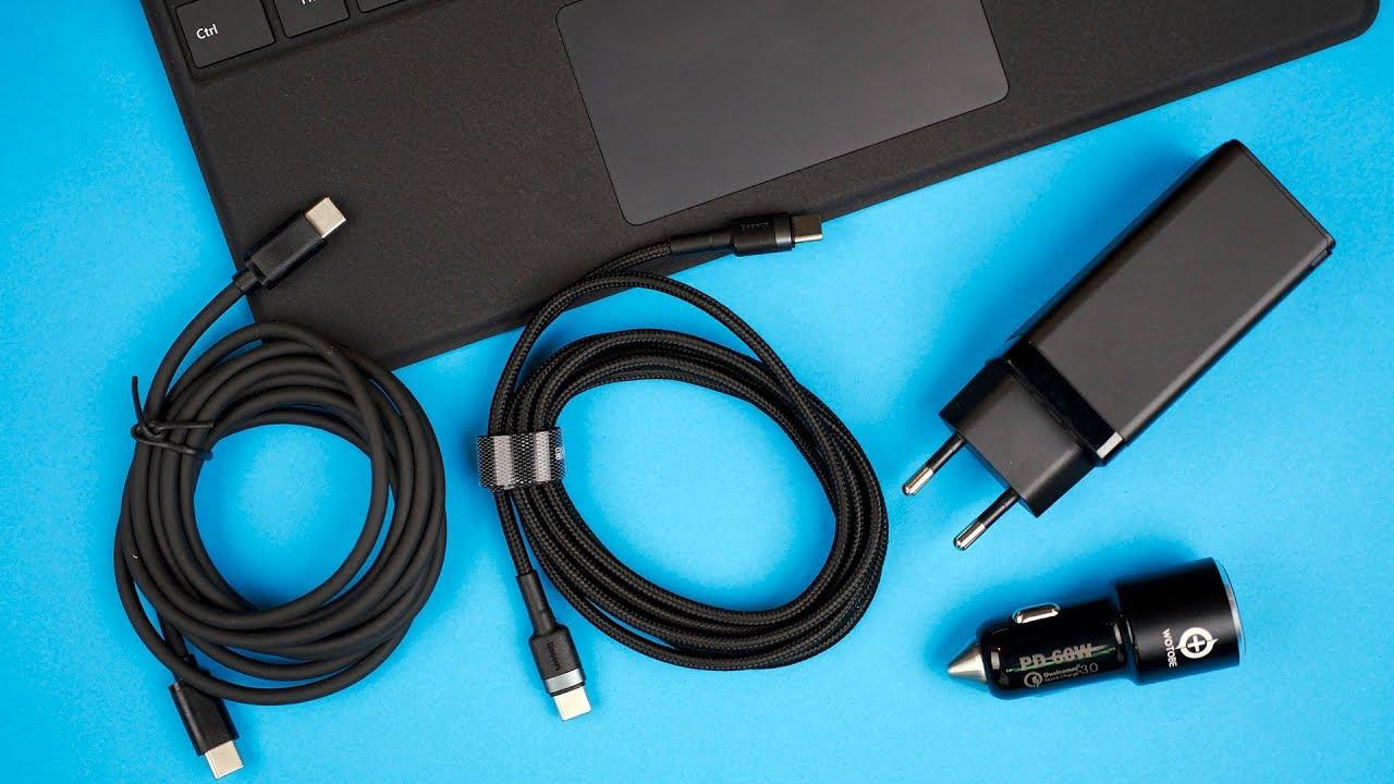 Тестируем быстрые зарядки USB Type-C на 65W с Microsoft Surface Pro 7 и Surface Pro X