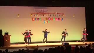 Dhoom Machale group performance in Ojima Diwali Dhamaka 2017 ..(akshat  Jain)