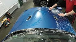 "Frozen Blue M3 ""Matte"" Paint-Protection film install(PPF)"