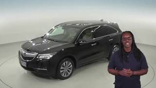 A95139GT - Used 2014 Acura MDX Technology Package AWD