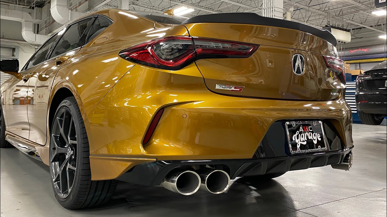 2021 Acura TLX Type-S Exhaust Notes #shorts