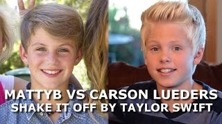 "MattyB vs Carson Lueders ""Shake it off"""