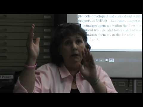 U.S. Virgin Islands Archives Council by Susan Laura Lugo