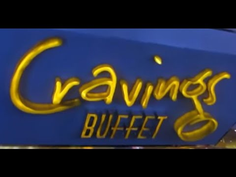 Cravings BUFFET at the Mirage Hotel Las Vegas Sep 2016