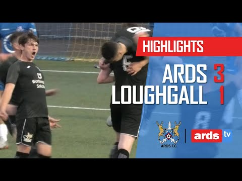Ards Loughgall Goals And Highlights