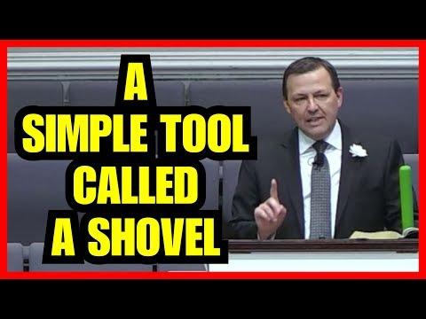 """A Simple Tool Called A Shovel"" – Jimmy Toney"