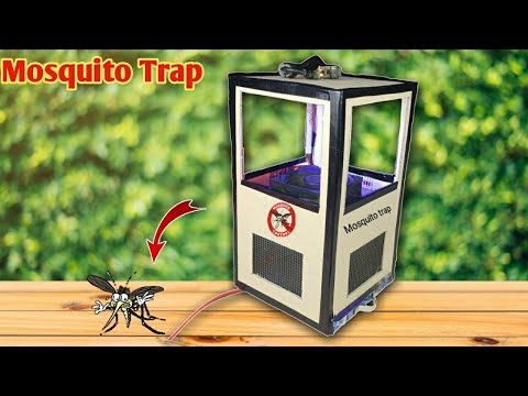 How Make mosquitoes Trap from Card Board