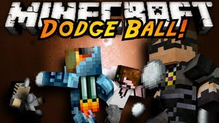 Minecraft Mini-Game : DODGE BALL!
