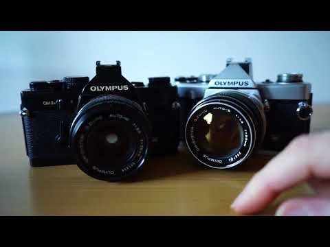Olympus OM1 and OM2 - an SLR 'Leica M'?