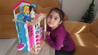 İlkim Naz Klara Ve Heidi İle Evcilik Oynuyor Kız Oyuncakları Eğlenceli Videolar