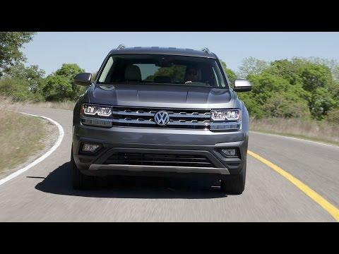 2018 Volkswagen Atlas SE - Exterior+Interior+Driving