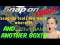 Snap On Friday: ANOTHER TOOLBOX and Where Are Snap On Tools Made?