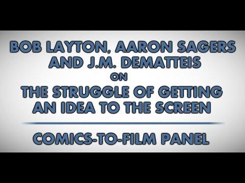 Wizard World Atlanta 2014: Comics-to-Film Panel (audio excerpt)