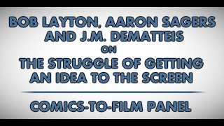 Wizard World Atlanta 2014: Comics-to-Film Panel (audio excerpt)