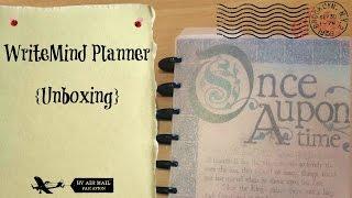 Opening my WriteMind Planner #AtoZChallenge