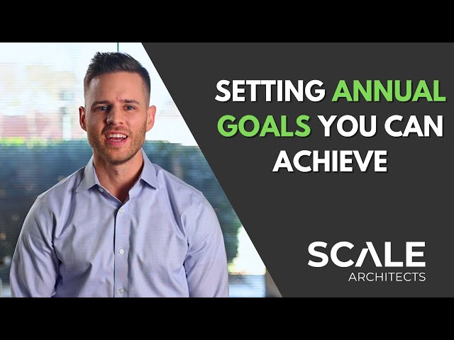 Using annual goals to achieve long term success