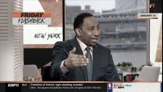 Stephen A. ANGRY Antonio Brown & Disappointed Drew Rosenhaus. Where's talent when incident happened?