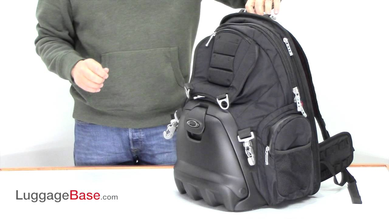 oakley lunch box backpack luggagebasecom youtube