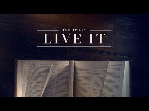 Live It - week 3