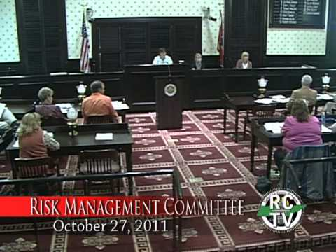 Risk Management Committee - October 27, 2011